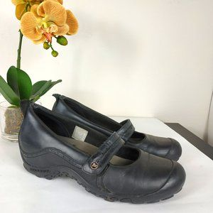 Sale! Merrell Black Leather Mary Jane Shoes